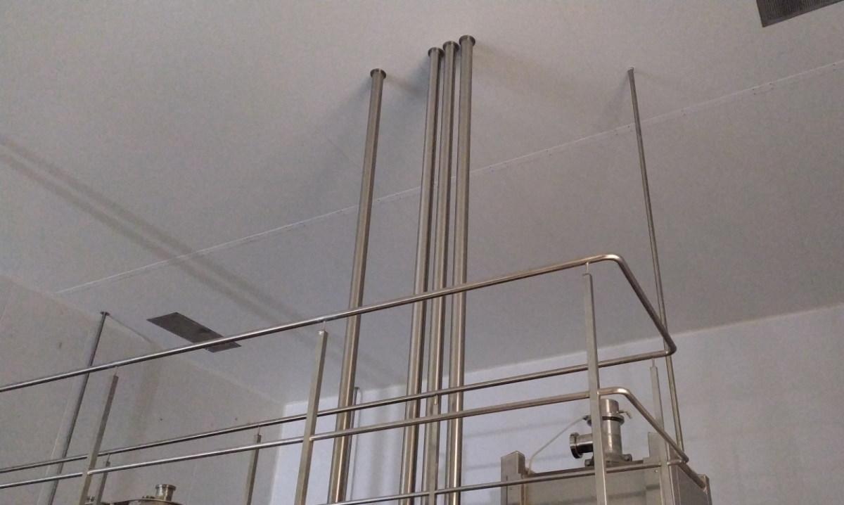 установка трубопровода витако