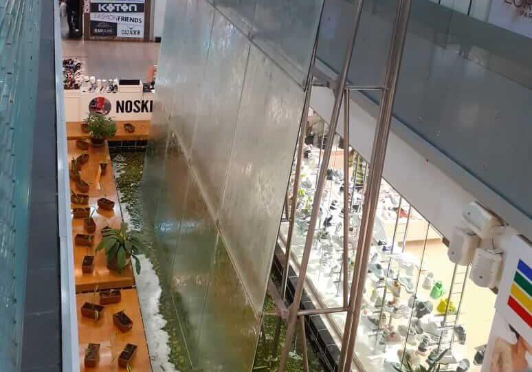 фонтан в тц