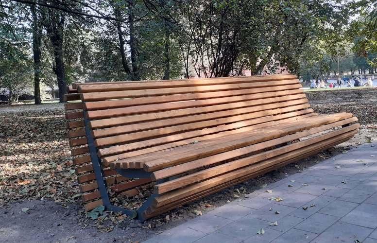 скамейка в парк