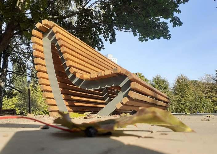 антивандальная скамейка