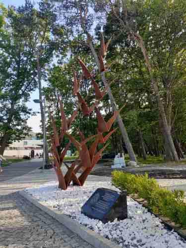 памятник павшим разведчикам